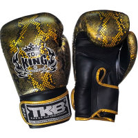 "Боксерские перчатки Top King Boxing TKBGSS-02 Black-Gold ""Air"""