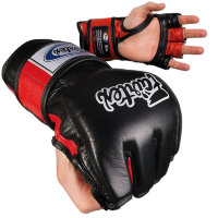 Перчатки для MMA Fairtex FGV12 Black Red