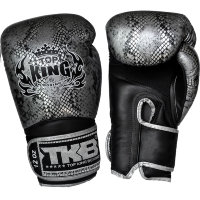 "Боксерские перчатки Top King Boxing TKBGSS-02 Black-Silver ""Air"""