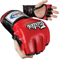 Перчатки для MMA Fairtex FGV12 Red Black