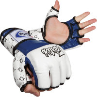 Перчатки для MMA Fairtex FGV17-White-Black