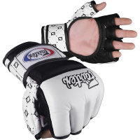 Перчатки для MMA Fairtex FGV17-White-Blue