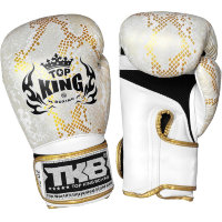 "Боксерские перчатки Top King Boxing TKBGSS-02 White-Gold ""Air"""