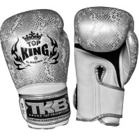 "Боксерские перчатки Top King Boxing TKBGSS-02 White-Silver ""Air"""